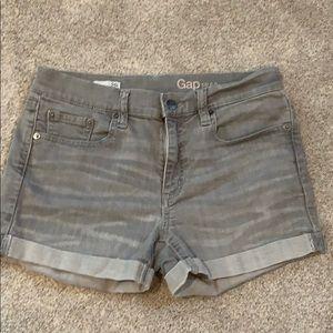 Grey Gap Denim Shorts